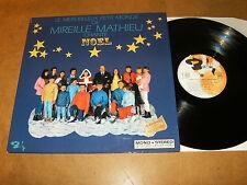 MIREILLE MATHIEU CHANTE NOËL - LP FRANCE - BARCLAY 80376 - Crèche relief pop hop