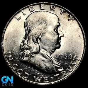 1950 D Franklin Half Dollar  --  MAKE US AN OFFER!  #K7538