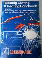 Australia WELDING CUTTING & HEATING HANDBOOK Vintage p/b book