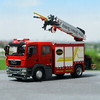 1/43 Scale JIEDA Emergency Fire Rescue Major Fire Truck MAN Truck Diecast Car