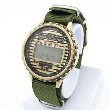 Vintage ELEKTRONIKA 55M Rare Quartz Watch Waterproof Digital Alarm Men's Belarus
