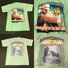 Kenny Chesney Somewhere in the Sun Tour 2005 T-Shirt Men's M Country Rock Music