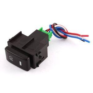 4 Wired Fog Light Switch For Nissan Tiida  /Micra /Almera /Versa
