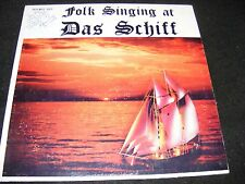 Private Issue Early 60s FOLK REVIVAL LP DAS SCHIFF Oceanside CA Autographed ODD!