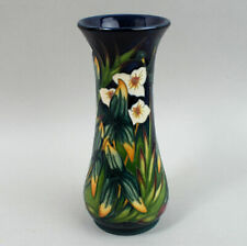 MOORCROFT LTD EDITION ART POTTERY 'ELF IN BECK' VASE BY PHILIP GIBSON C.2001