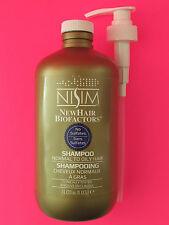 Nisim ANTI Hair Loss Shampoo (1L/33oz) (Normal-Oily Type) FAST FREE USA SHIPPING