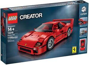 New Sealed Mint LEGO Creator - Ferrari F40 - 10248 Rare Discontinued Retired Set