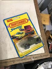Matchbox #73 Superfast Weasel 1976 Lesney on Blister CardRolamatic