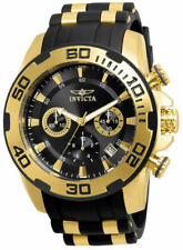 Invicta Men's Pro Diver 22312 Gold Rubber Quartz Fashion Watch