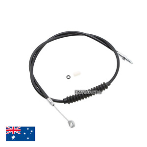 NEW Black motorcycle clutch cable Harley XL883 dyna fat boy road king softail