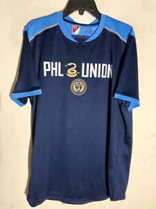 Adidas MLS Jersey Philadelphia Union Team Blue sz XL