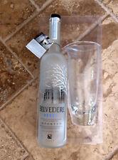 Belvedere Vodka Martini Pitcher Gift Set 1.75 Liter Bottle and Pitcher, Empty