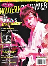 MODERN DRUMMER Magazine - The Who's Zak Starkey, Travis Smith & More - Jan 2007