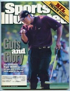 SI: Sports Illustrated August 28, 2000 Guts and Glory: Tiger Woods, Golf, VG