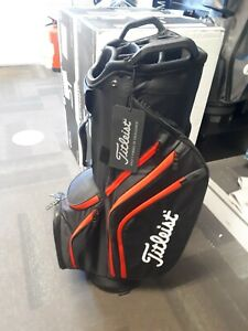 TITLEIST Cart 14 Lightweight Bag - BRAND NEW (black/red)