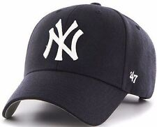 NEW YORK YANKEES '47 Brand MVP HAT Adult HOME NAVY Adjustable Cap