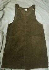 Maternity Dress Zero To Nine Knee Length Brown 100% Cotton Large L