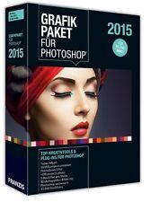 Franzis Grafikpaket für Photoshop 2015 NEU