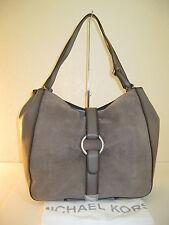 MICHAEL Michael Kors Quincy Cinder Suede Leather Large Shoulder Tote Bag $458