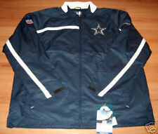 Dallas Cowboys Mid-weight Sentinel Jacket Medium Reebok Embroidered Logos NFL
