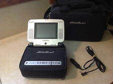 Eddie Bauer ME20 DVD Mobile Video System With Case/ Carrying Bag
