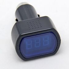 New Auto LCD Cigarette Lighter Voltage Digital Panel Meter Voltmeter Monitor Car