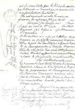 LETTRE AUTOGR. J. P. G. VIENNET POETE ACADEMICIEN 1846