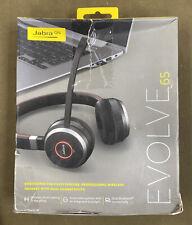 Jabra Evolve 65 Bluetooth Headset - Black (100-98500000-02)....FREE S&H!!!