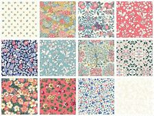 Liberty of London - 10 Patchwork Squares 4 inch Orchard Collection 100% Cotton