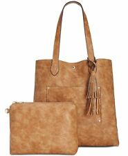 Steve Madden 4287 Womens Brown Casey North South Tote Bag