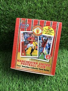 Manchester United Futera 1997/98 Unopened Sealed Box DAVID BECKHAM ROOKIE x1