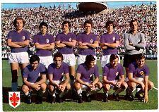 Cartolina Squadra AC Fiorentina Calcio 1970/71