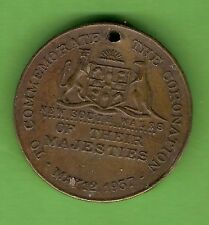 #D274. 1937 NEW SOUTH WALES CORONATION MEDAL