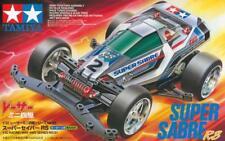 TAMIYA 1:32 MINI 4WD SUPER SABRE RS VS CHASSIS SERIES NO.61 CON MOTORE ART 18061