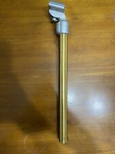 Nos Old School Sr Laprade Style Bmx Fluted  Gold Seat Post 22.2