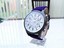 Versace Watch Men's Chronograph Canvas Versus by Versace Collection Purple NEW
