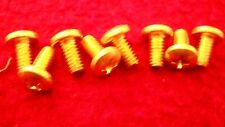 Holley Brass Throttle Blade Screws - Twenty Five Pack