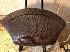 DEITSCH 1940's Brown Lizard Clutch Purse