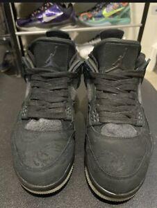 Air Jordan Kaws 4 Black | Used