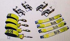 38-200SH BA 8 point Product Rollback TieDown System Flatbed tow truck Snap hook
