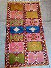 COLLECTORS' PIECE Vintage Boujaad Moroccan Carpet Kilim Mixed Barjasta Rug