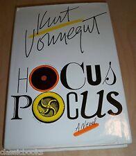 1st/1st Printing HOCUS POCUS Kurt Vonnegut