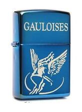 ☆ Zippo ® Feuerzeug Gauloises Blondes | Sapphire Blue Ice ☆