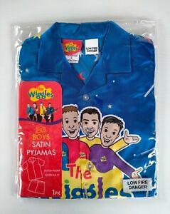 The Wiggles Boys Satin Pyjamas Size 3