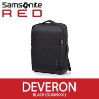 "Samsonite RED 2019 DEVERON Backpack GU009001 2Way 15""Laptop 31x44x11cm EMS Black"