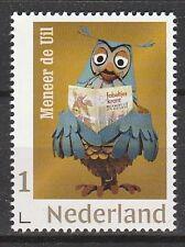 Nederland 2018 3678a persoonlijke postzegel Fabeltjeskrant Meneer de Uil