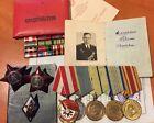 Soviet Medal Order Badge Red Star Red Banner Sevastopol for Navy Doc  (#1101)