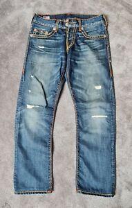 True Religion Herren Jeans 30 Geno Super T
