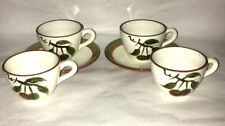 Stangl Orchard Song 2 Cup and Saucer Sets plus 2 Cups