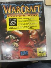 Warcraft Orcs & Humans Brand New MS-DOS CD-ROM Blizzard Blizzard Entertainment